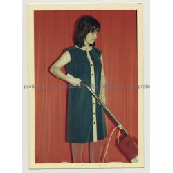 Series Of West German Fashion Photos 14: 1960s/1970s (Vintage Advertisement Photo)
