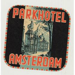Parkhotel - Amsterdam / Netherlands (Vintage Luggage Label)