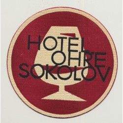 Hotel Ohre - Sokolov / Czech Republic (Vintage Advertisment Coaster / Beermat)