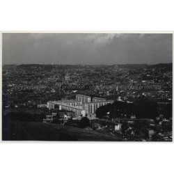 76000 Rouen: VIew Over Town (Vintage Photo France B/W 1963)