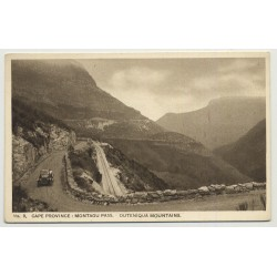 Cape Province / South Africa: Montagu Pass / Outeniga (Vintage Photo PC B/W)