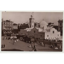 Algiers / Algeria: Place Du Gouvernement (Vintage Photo PC B/W)
