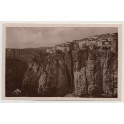 Algier / Constantine: Le Quartiers des Tanneurs et le Rhummel (Vintage Photo PC B/W C.A.P.)