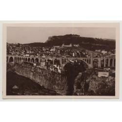 Algier / Constantine: Panorama Pris de la Route de Setif (Vintage Photo PC B/W C.A.P.)