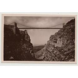 Algier / Constantine: Passerelle Sidi M'Cid Haut (Vintage Photo PC B/W C.A.P.)