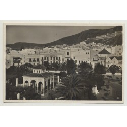 Tetuan / Morocco: Plaza España (Vintage Photo PC B/W 1932)