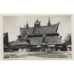 Indoesia / Sumatra: Batak House (Vintage Photo PC ~1920s)