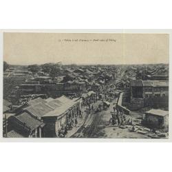 China: Pékin à Vol D'Oiseau / Bird's View Of Peking (Vintage Photo PC ~1900)
