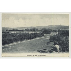 Madikeri / India: Mercara Fort And Surroundings (Vintage Photo PC 1914)