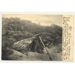 Bogota: Choza De Indios/ Indian Hut (Vintage Postcard: 1904)