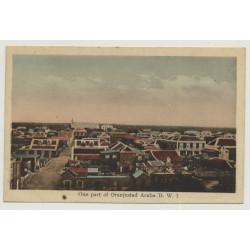 One Part Of Oranjestad - Aruba D. W. I. / Antilles (Vintage Postcard)