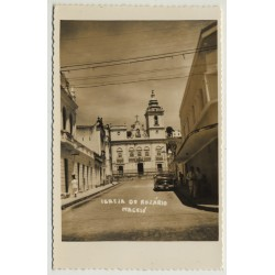 Maceió / Brazil: Igreja Do Rozário (Vintage Real Photo PC)