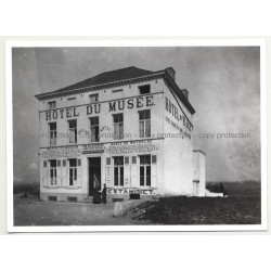 Hotel Du Musée 1 - Waterloo / Belgium (Vintage A.C.L. Archive Photo B/W ~1950s)
