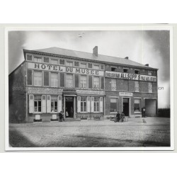 Hotel Du Musée 2 - Waterloo / Belgium (Vintage A.C.L. Archive Photo B/W ~1950s)