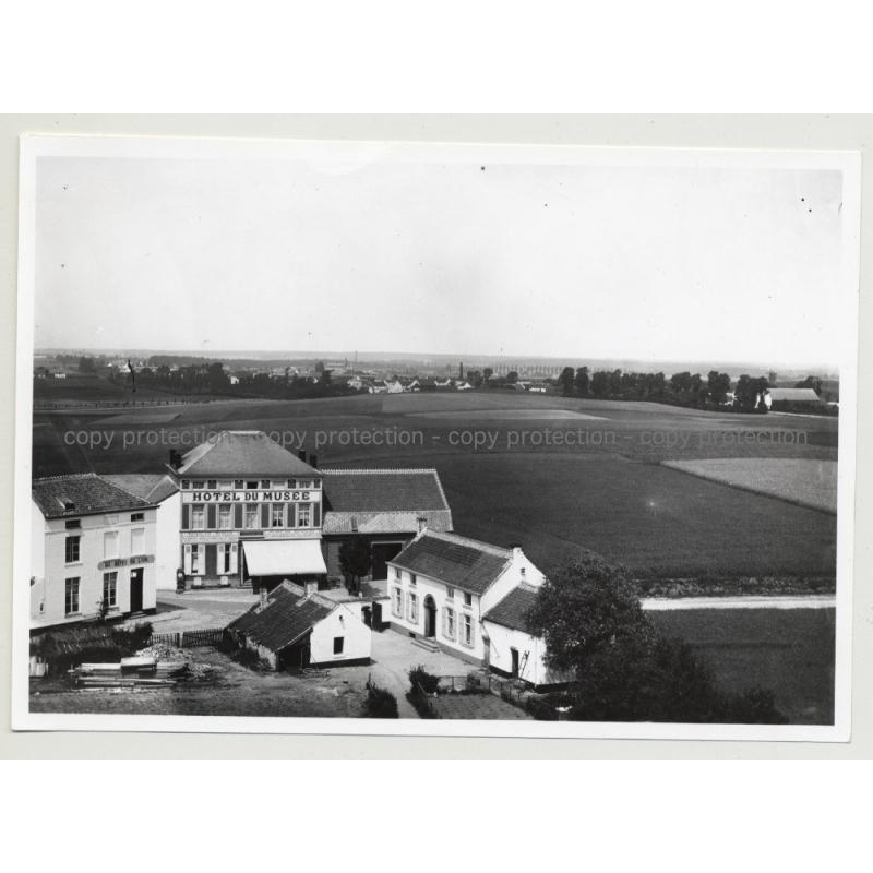 Hotel Du Musée 3 - Waterloo / Belgium (Vintage A.C.L. Archive Photo B/W ~1950s)