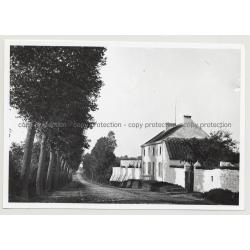 Hotel Du Musée 5: Outbuilding - Waterloo / Belgium (Vintage A.C.L. Archive Photo B/W ~1950s)