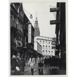 Bankhaus von der Heydt-Kersten & Söhne / Wuppertal-Elberfeld? (Vintage Photo 1960s)
