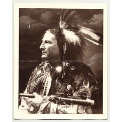 Chief Ed Crazy Horse - Omaha / F.A. Rinheart (Vintage Collectors' Photo: American Indians)