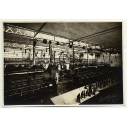 Overview Of Sewing Factory / Leather Upholstery 2 (Vintage Photo A. Charlier B/W 20s/30s)