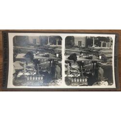 Marchand De Pouple - Napoli / Italy (Vintage Stereo Photo)