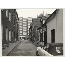 45657 Recklinghausen: Steet View - Workers Houses & Apartments (Vintage Photo 1972)
