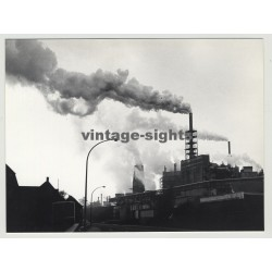 50354 Knapsack / Germany: View On Power Plant (Vintage Photo 1970s)