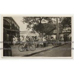 Buhan & Teisseire & Market Hall - 1 Rue Des Essarts, Dakar (Vintage Photo B/W ~1940s)