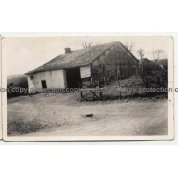 4987 Habiémont / Belgium: Barn / Farmhouse (Vintage Photo B/W 1934)