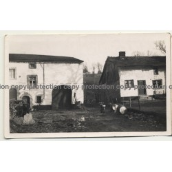 4987 Forges, Chevron / Belgium: Farmhouse - Residence (Vintage Photo B/W 1936)