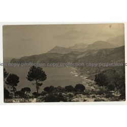 Mallorca - Baleares / Spain: Costa De Deya (Vintage RPPC)