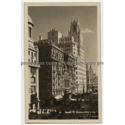 28050 Madrid: Av. De Pi Y Margall / Edificio Telefonica (Vintage RPPC 1929)