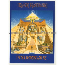 Iron Maiden - Powerslave (Vintage Official Postcard UK 1985)