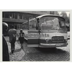 1966 Setra S Bus / Alois Lindemann - Herbede / Ruhr (Vintage Photo)