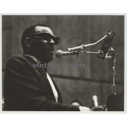 Ray Charles In Action (Vintage Press Photo 1960s)