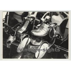 Cool 60s Store Window: Tilbury Platform Shoes / Plateaus (Vintage Photo)