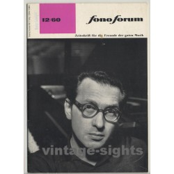 Fono Forum 12/60 (Vintage German Classical Music Paper