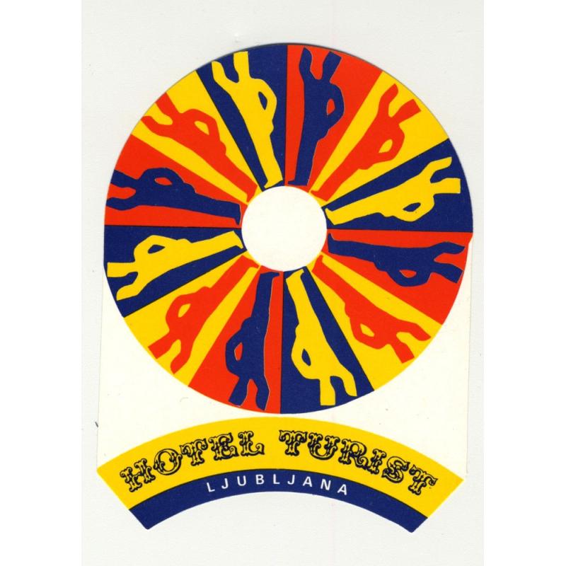 Hotel Turist - Ljubljana / Slovenia (Vintage Luggae Label)