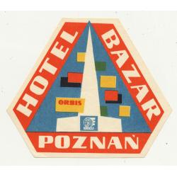 Hotel W Gierlozy - Warszaw / Poland (Vintage Luggae Label)