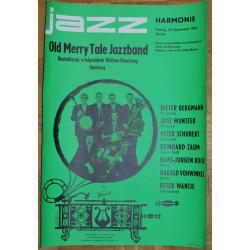 Old Merry Tale Jazzband - Jazz Harmonie 1963 (Vintage Jazz Concert Poster)