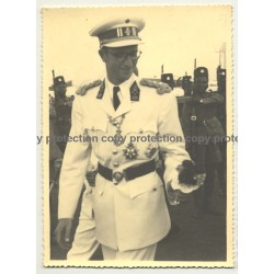Le Roi Baudouin En Congo / King Baudouin In Congo (Vintage Photo B/W 1955?)
