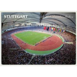 Gottlieb-Daimler-Stadion - Stuttgart / Germany (Vintage Postcard)