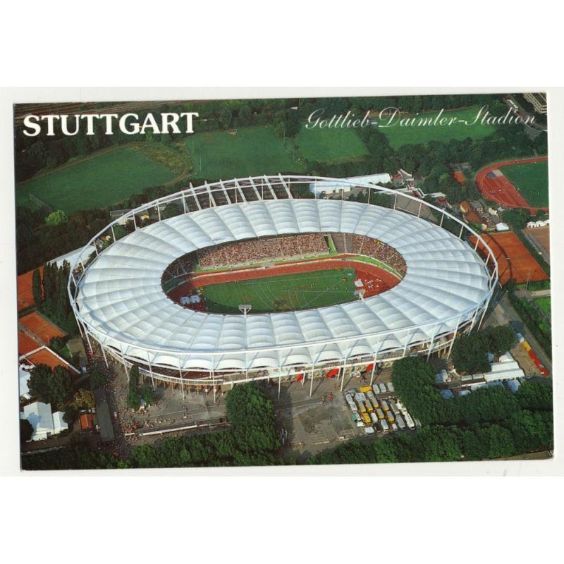 Gottlieb-Daimler-Stadion - Stuttgart *2 / Germany (Vintage Postcard)