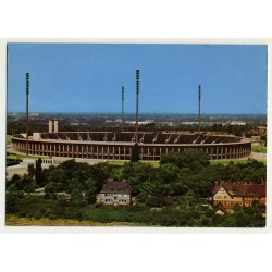 Olympiastadion - Olympic Stadium - Berlin / Germany (Vintage Postcard)