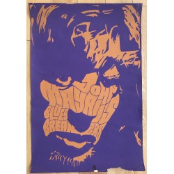 John Mayall's Blues Breakers (VINTAGE SCREEN PRINTED POSTER ~1960s/1970s)