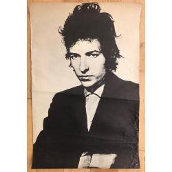Bob Dylan / Daniel Kramer? (Rare Vintage Poster B/W ~1960s 74 x 49 cm)
