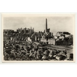 Lehnert & Landrock: Karnak - Great Temple Of Amen Ra (Vintage RPPC 1920s/1930s)