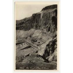 Lehnert & Landrock: Thebes -Temple Of Deir-El-Bahri (Vintage RPPC 1920s/1930s)