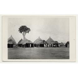 Lehnert & Landrock: Bedouin Village - Egypt (Vintage RPPC ~1920s/1930s)