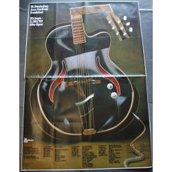 18. Deutsches Jazz Festival Frankfurt 1982..Don Cherry..Mangelsdorff..(Vintage Jazz Concert Poster)