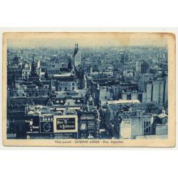 Buenos Aires / Argentina: Vista Parcial (Vintage Postcard ~1920s)
